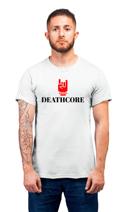 Graphic Printed T-Shirt for Men & Women Deathcore Cool Typography