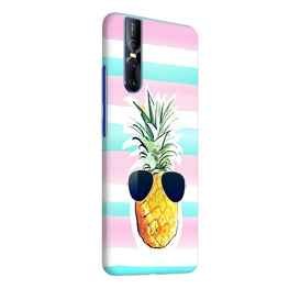Cool Pineapple Abstract Vivo V15 Pro Cover Case (For Girls)