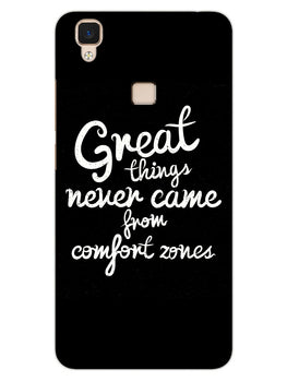 Comfort Zone Gyaan Vivo V3 Mobile Cover Case