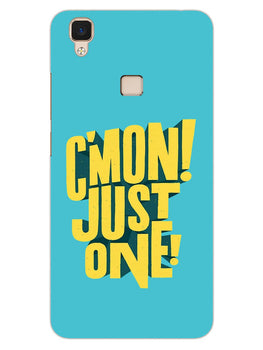 Come On Motivational Quote Vivo V3 Mobile Cover Case