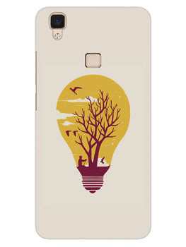 Live Life With Nature Vivo V3 Mobile Cover Case
