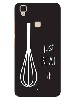 Just Beat It  Vivo V3 Mobile Cover Case