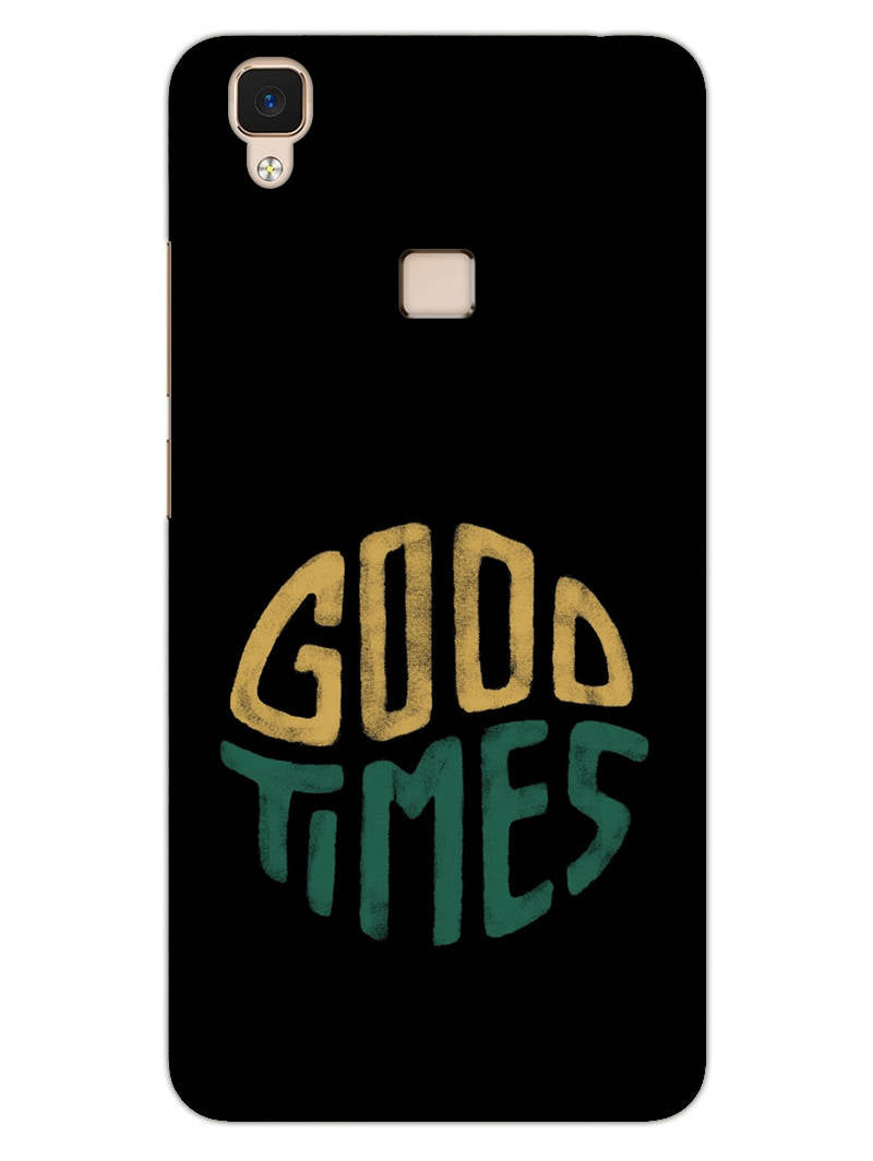 Good Times Happy Days Vivo V3 Mobile Cover Case - MADANYU