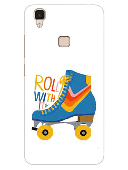 Roller Skate Play With Fun Vivo V3 Mobile Cover Case