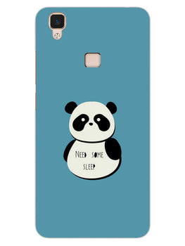 Sleepy Panda Vivo V3 Mobile Cover Case