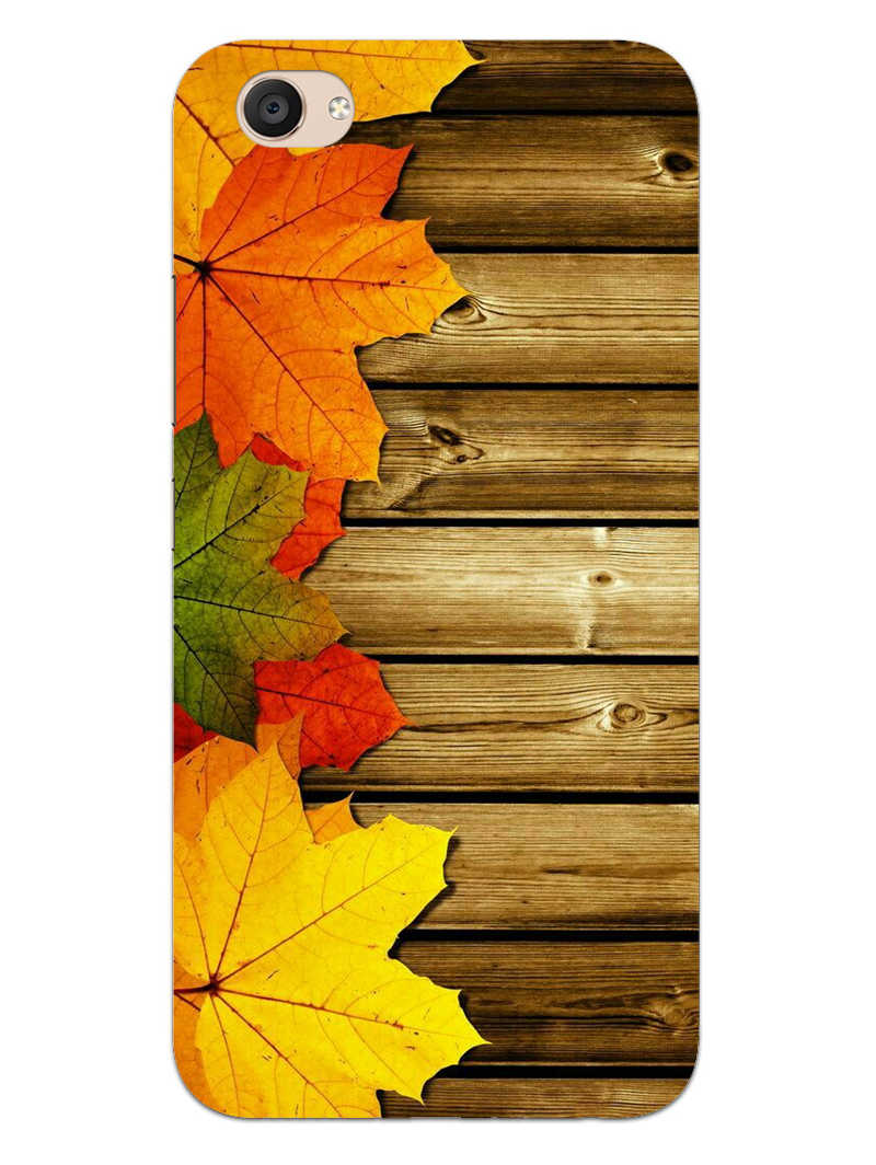 Autumn Wood Vivo V5 Plus Mobile Cover Case