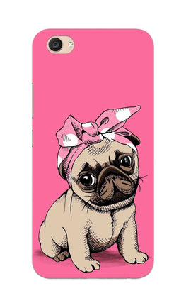 Princess Pug Dog Lovers So Girly Vivo V5 Plus Mobile Cover Case