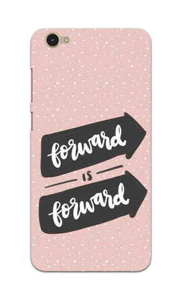 Forward Is Forward Motivational Quote Vivo V5 Mobile Cover Case