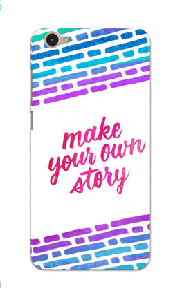 Make Your Own Story Motivational Quote Vivo V5 Mobile Cover Case