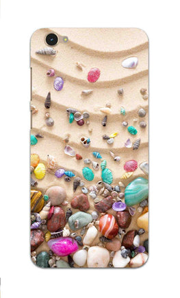 Sea Shell Collection Beach Lovers Vivo V5 Mobile Cover Case