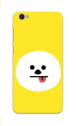 Tongue Out Smile Funny Face Vivo V5 Mobile Cover Case