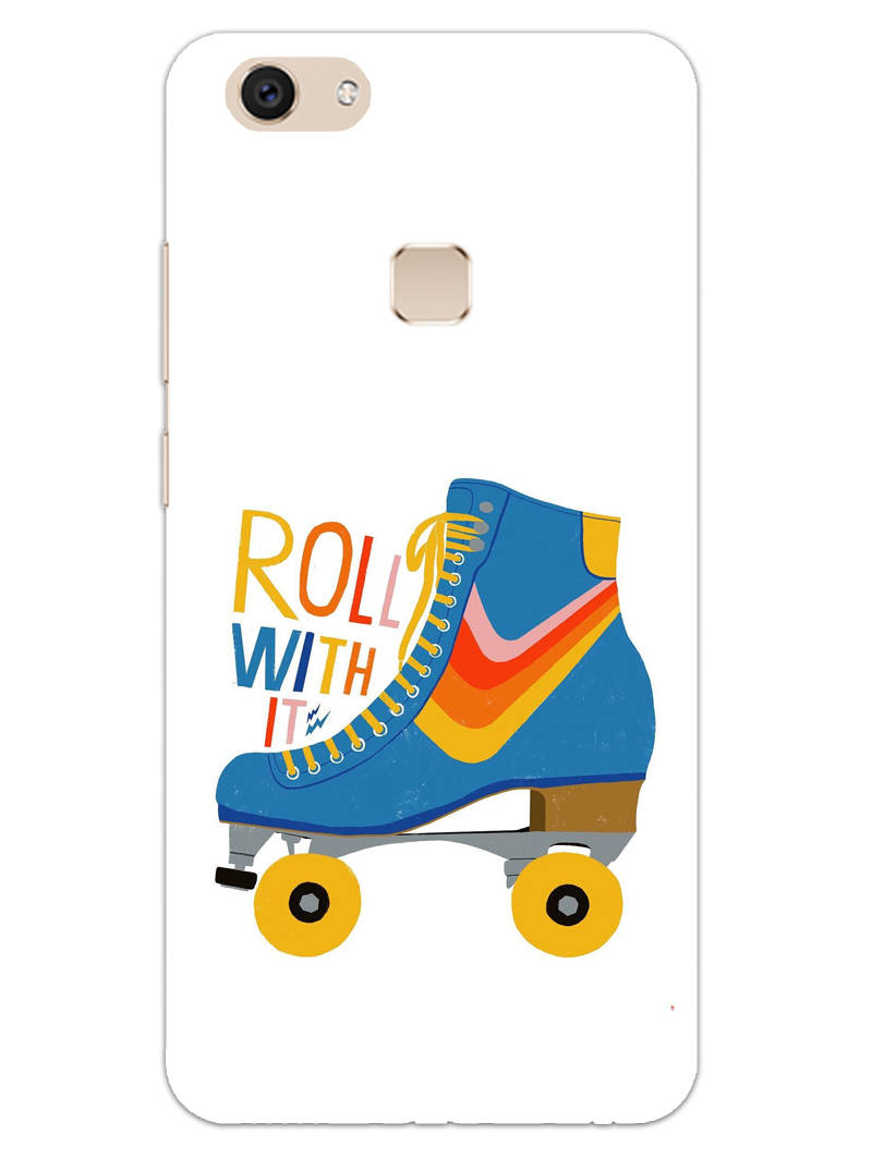 Roller Skate Play With Fun Vivo V7 Plus Mobile Cover Case - MADANYU
