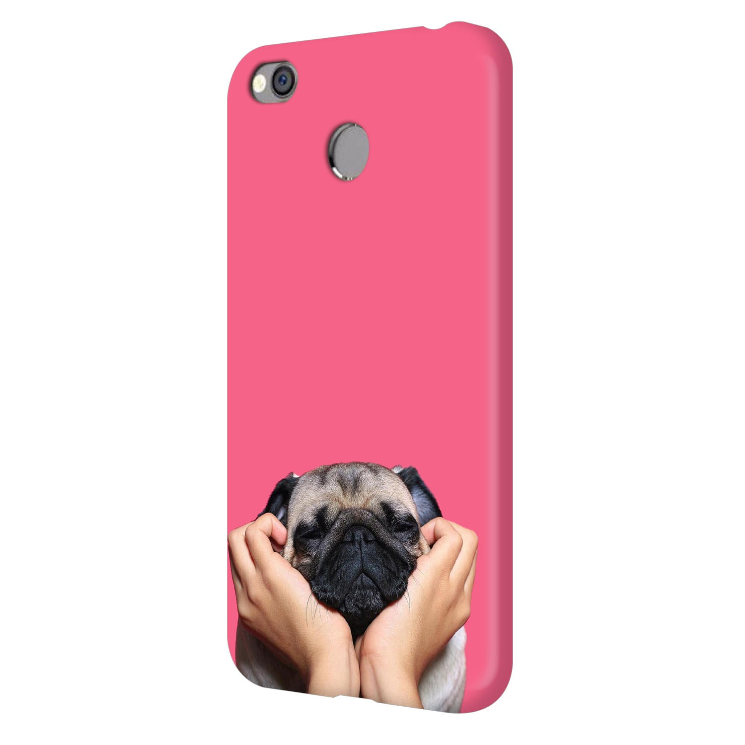 Funny Pug Dog Lovers Vivo V7 Plus Mobile Cover Case - MADANYU