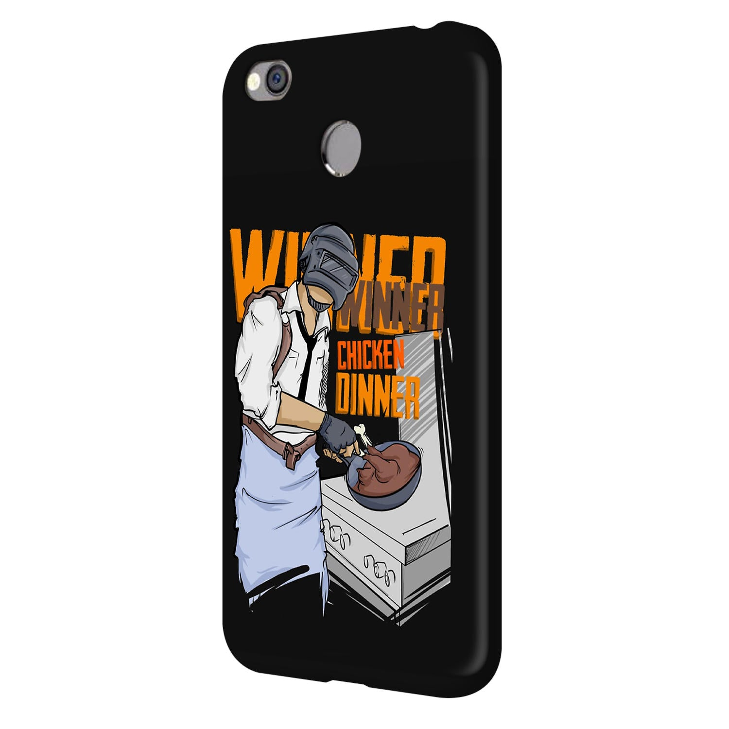 Man Making Chicken Dinner For Game Lovers Vivo V7 Plus Mobile Cover Case - MADANYU