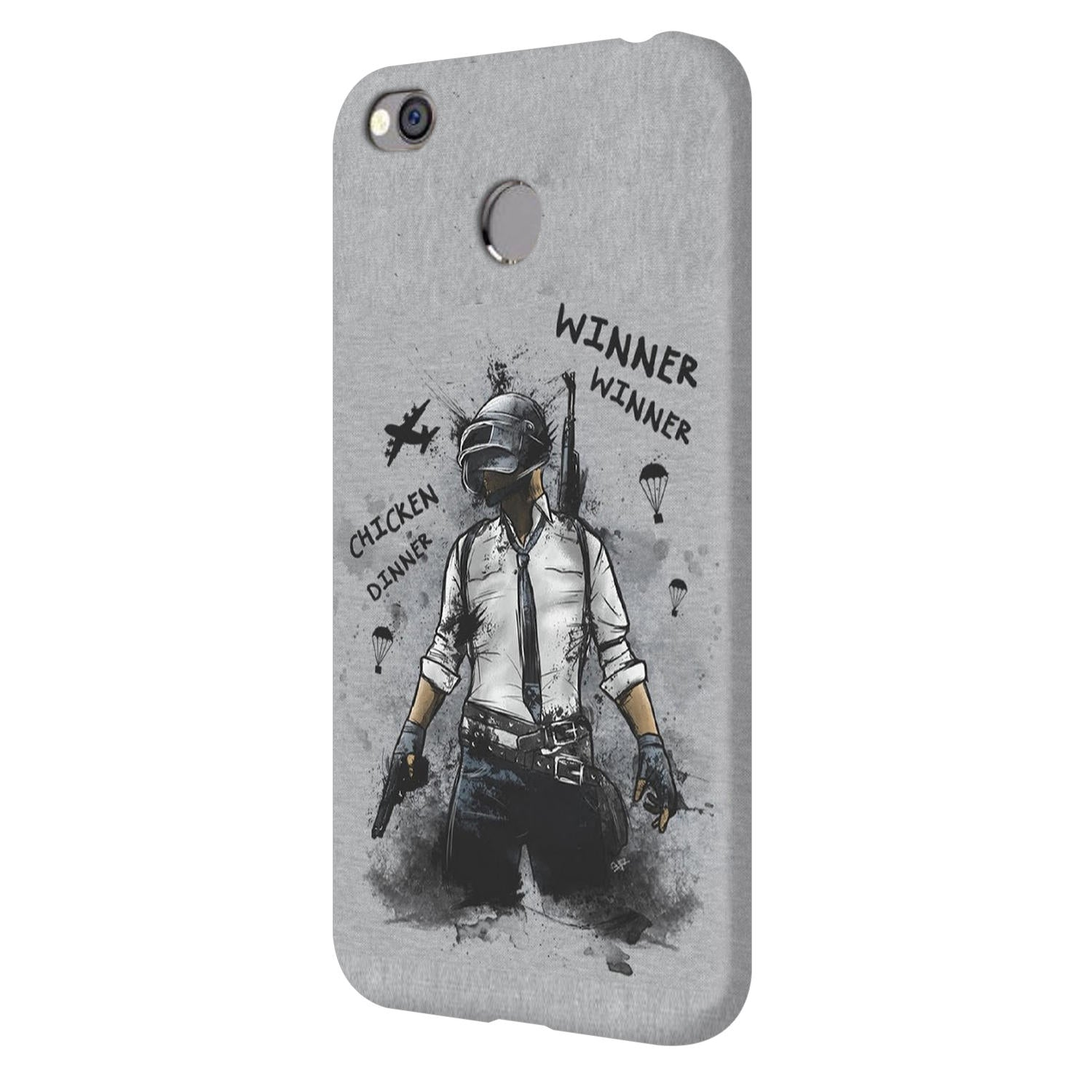 Winner Winner Chicken Dinner Typography Art Vivo V7 Plus Mobile Cover Case - MADANYU
