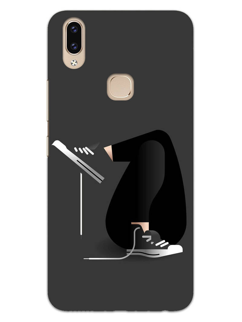 Confident Girl Swag Vivo V9 Mobile Cover Case - MADANYU