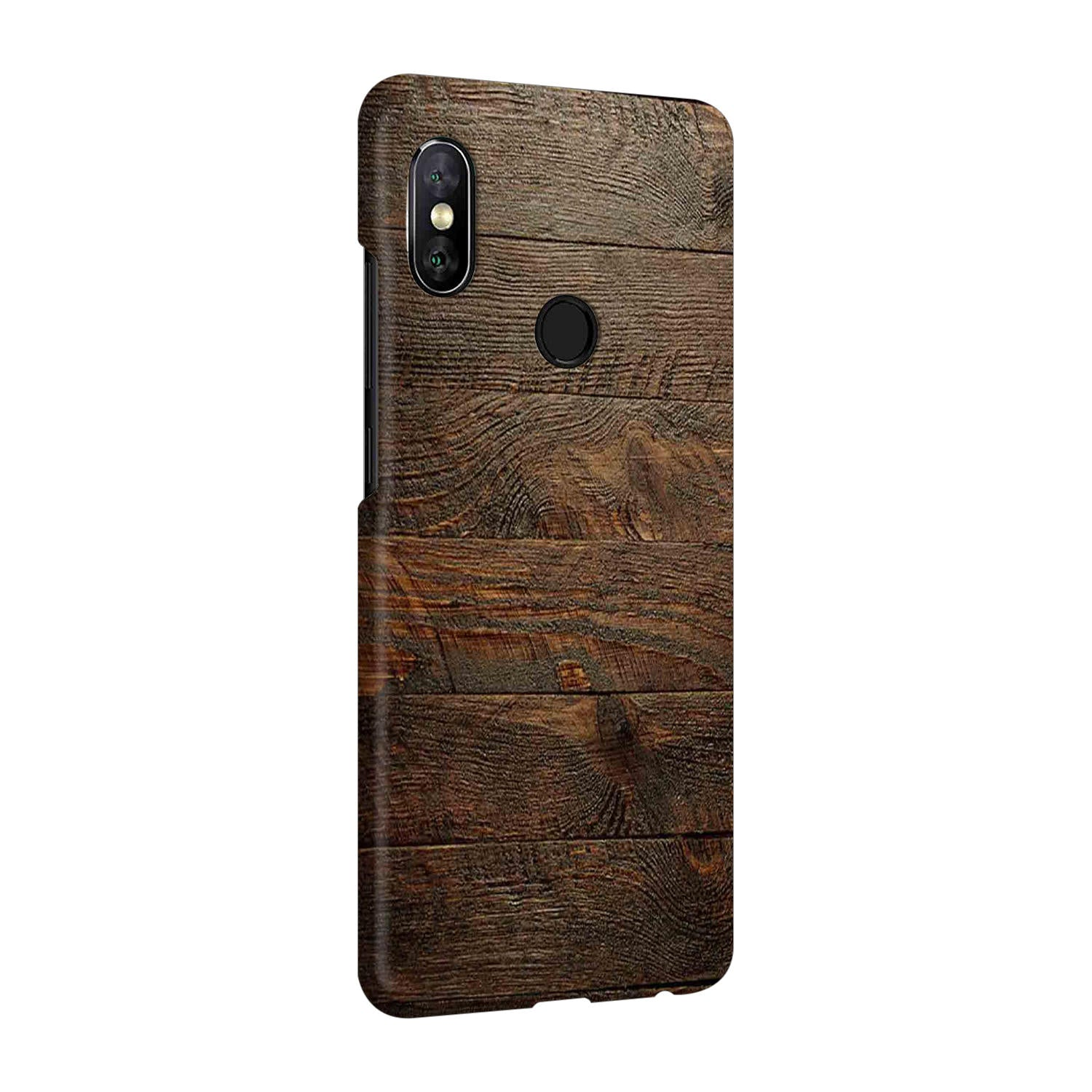 Wooden Wall Vivo V9 Mobile Cover Case - MADANYU