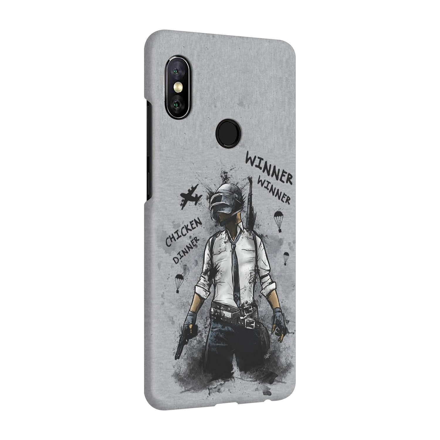 Winner Winner Chicken Dinner Typography Art Vivo V9 Mobile Cover Case - MADANYU