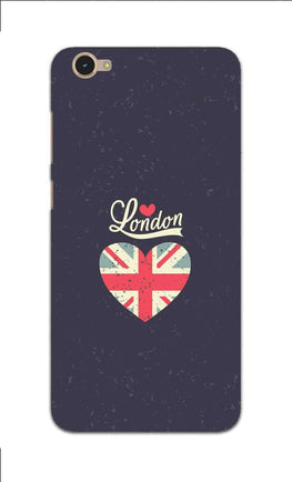 London Travel Art For Travelling Lovers Vivo Y55L Mobile Cover Case