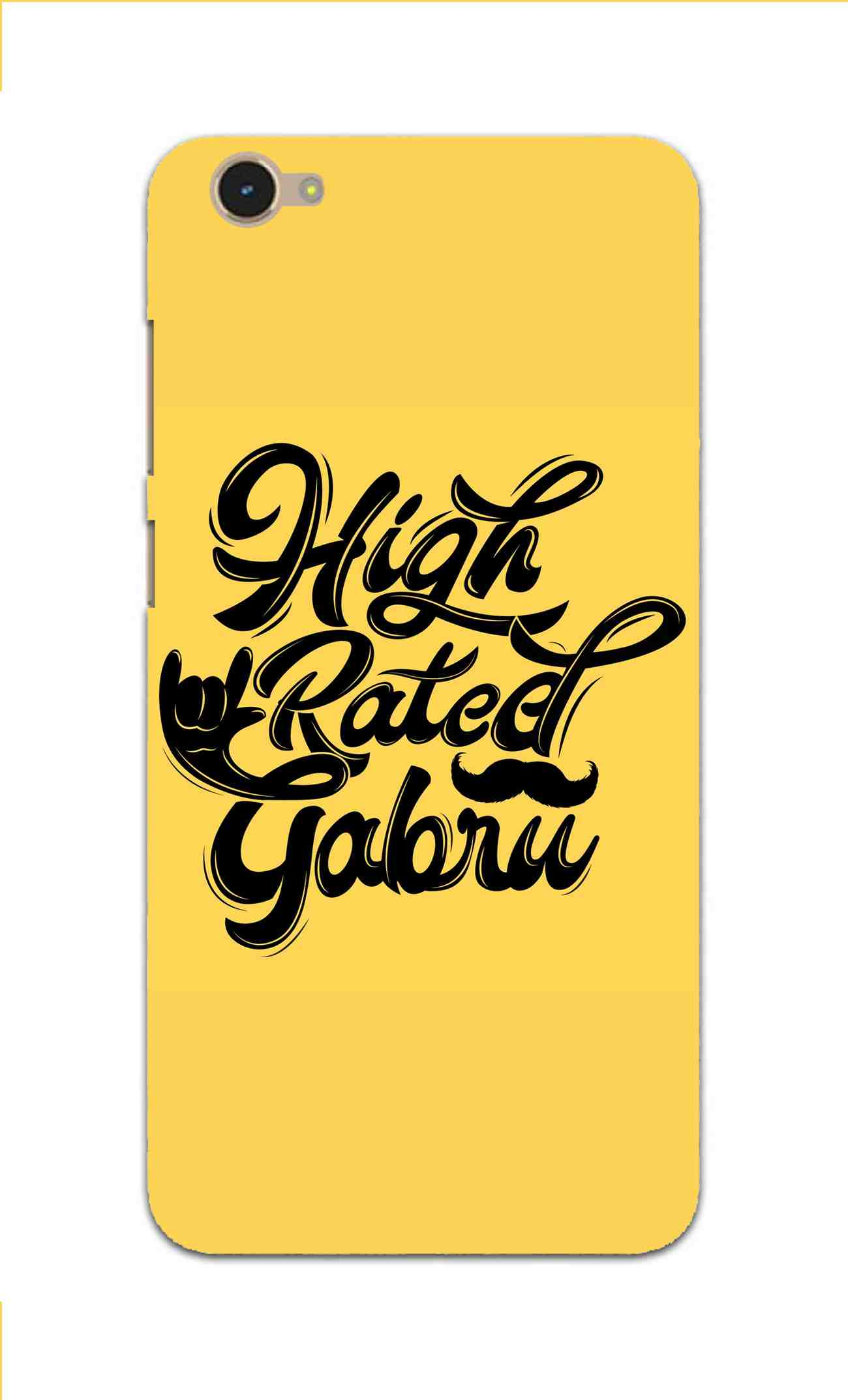 High Rated Gabru Song Typography Vivo Y55L Mobile Cover Case - MADANYU