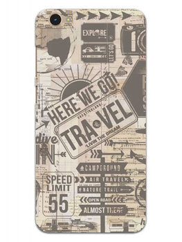 Wanderlust Graffiti Vivo Y55L Mobile Cover Case