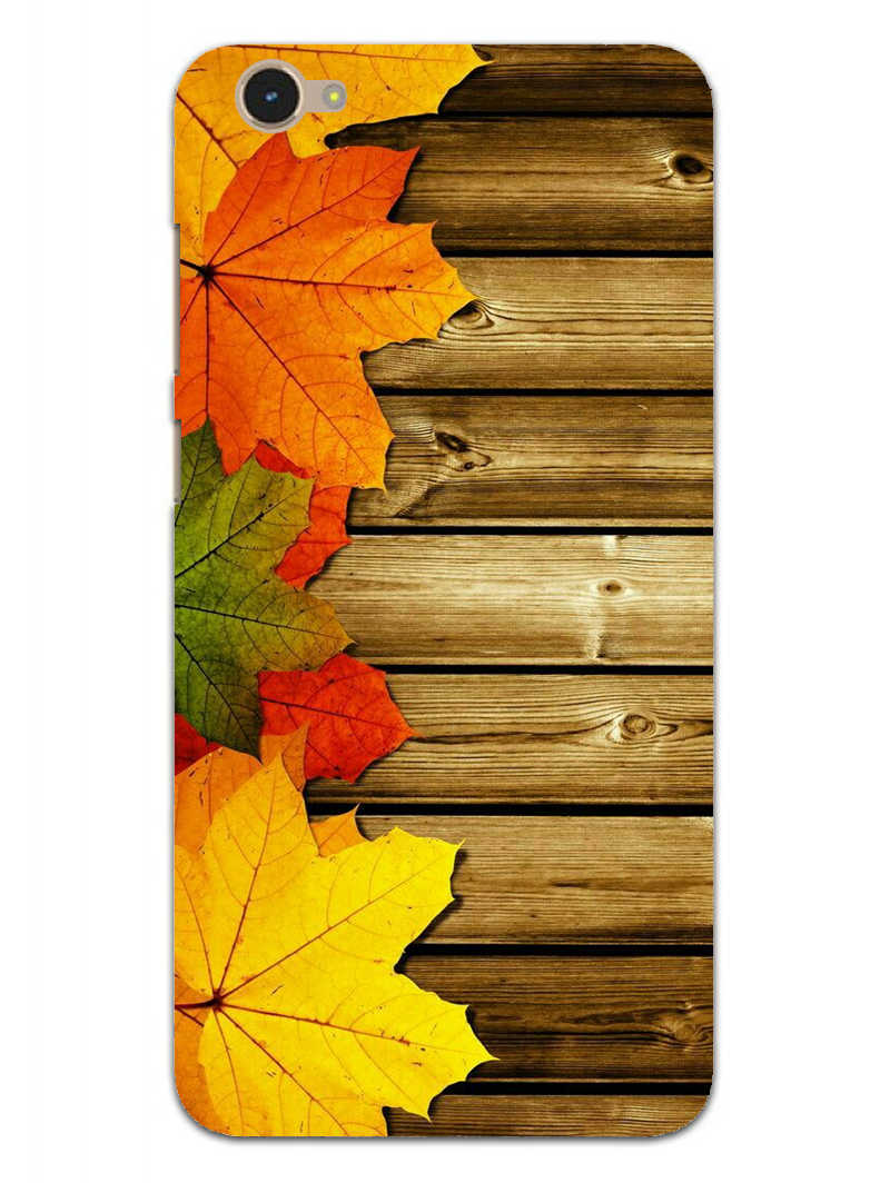 Autumn Wood Vivo Y55L Mobile Cover Case