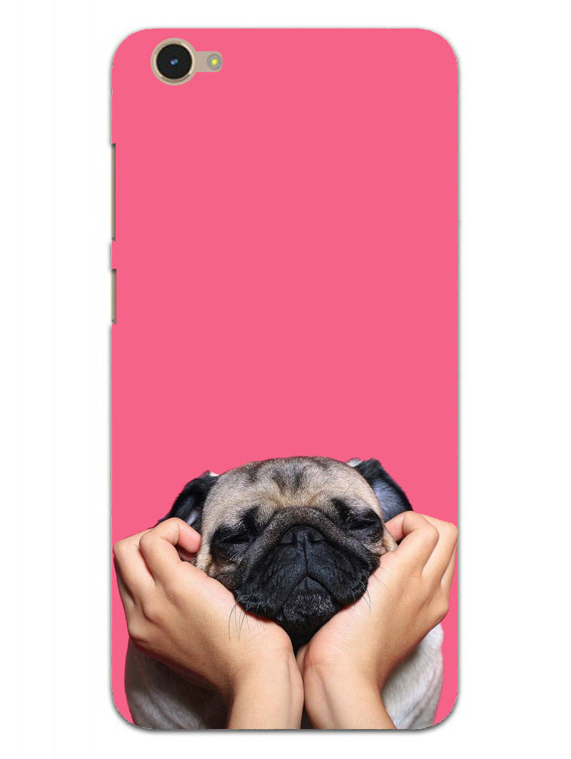 Funny Pug Dog Lovers Vivo Y55L Mobile Cover Case - MADANYU