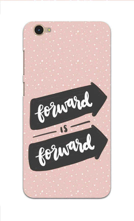 Forward Is Forward Motivational Quote Vivo Y55L Mobile Cover Case