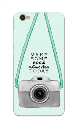 Camera Art For Good Memories Vivo Y55L Mobile Cover Case