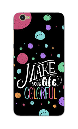 Make Your Life Colorful Motivational Quote Vivo Y55L Mobile Cover Case