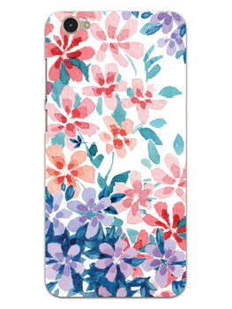 Floral Art Vivo Y55S Mobile Cover Case