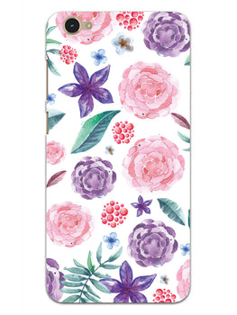 Floral Pattern Vivo Y55S Mobile Cover Case