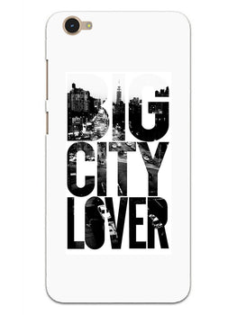 Big City Lover Dreamer Quote Vivo Y55S Mobile Cover Case