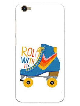 Roller Skate Play With Fun Vivo Y55S Mobile Cover Case