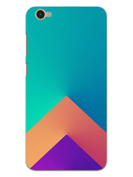 Triangular Shapes Vivo Y55S Mobile Cover Case