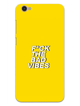 Fuck The Bad Vibes Quote Vivo Y55S Mobile Cover Case