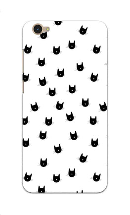Cats Everywhere Cat Lovers Vivo Y55S Mobile Cover Case