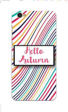 Lines Autumn For Artist Vivo Y55S Mobile Cover Case