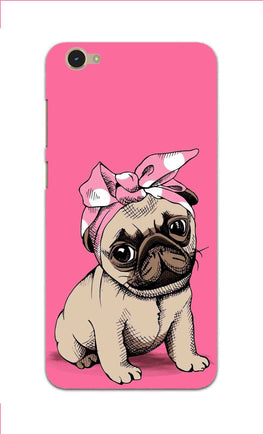Princess Pug Dog Lovers So Girly Vivo Y55S Mobile Cover Case