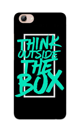 Think Outside The Box Motivation Quote Vivo Y71 Mobile Cover Case