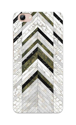 Marble Strips Line Pattern Geometric Art Vivo Y71 Mobile Cover Case