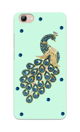 Beautiful Peacock Stone Art  Vivo Y71 Mobile Cover Case