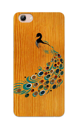 Peacock On Wood So Girly Pattern Vivo Y71 Mobile Cover Case