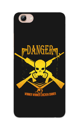 Danger Gun Sign Typography Vivo Y71 Mobile Cover Case