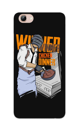Man Making Chicken Dinner For Game Lovers Vivo Y71 Mobile Cover Case
