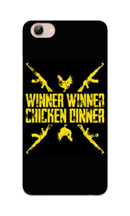Gun And Chicken For Winner Typography Art Vivo Y71 Mobile Cover Case