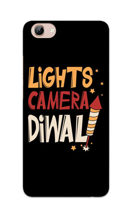 Lights Camera Diwali Enjoy Festival Of Light Vivo Y71 Mobile Cover Case