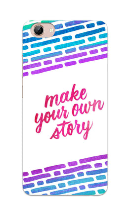 Make Your Own Story Motivational Quote Vivo Y71 Mobile Cover Case