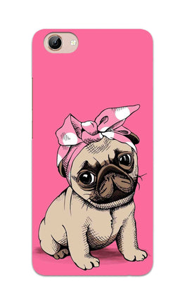 Princess Pug Dog Lovers So Girly Vivo Y71 Mobile Cover Case