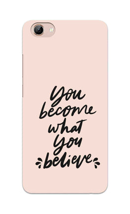 What You Believe Motivational Quote Vivo Y71 Mobile Cover Case